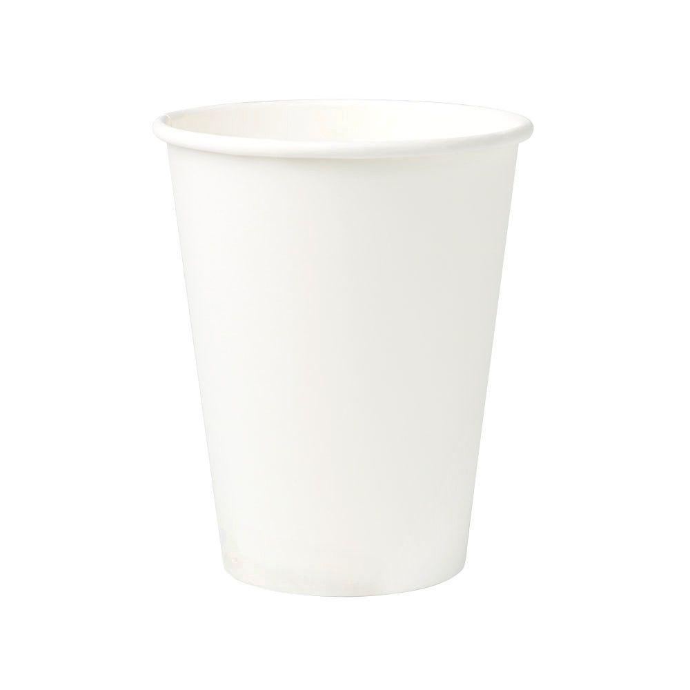 Pappbecher 300 ml / 12 oz, Ø 90 mm, weiß, PLA-beschichtet