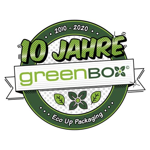 10 Jahre (2010 - 2020) greenbox - Eco Up Packaging