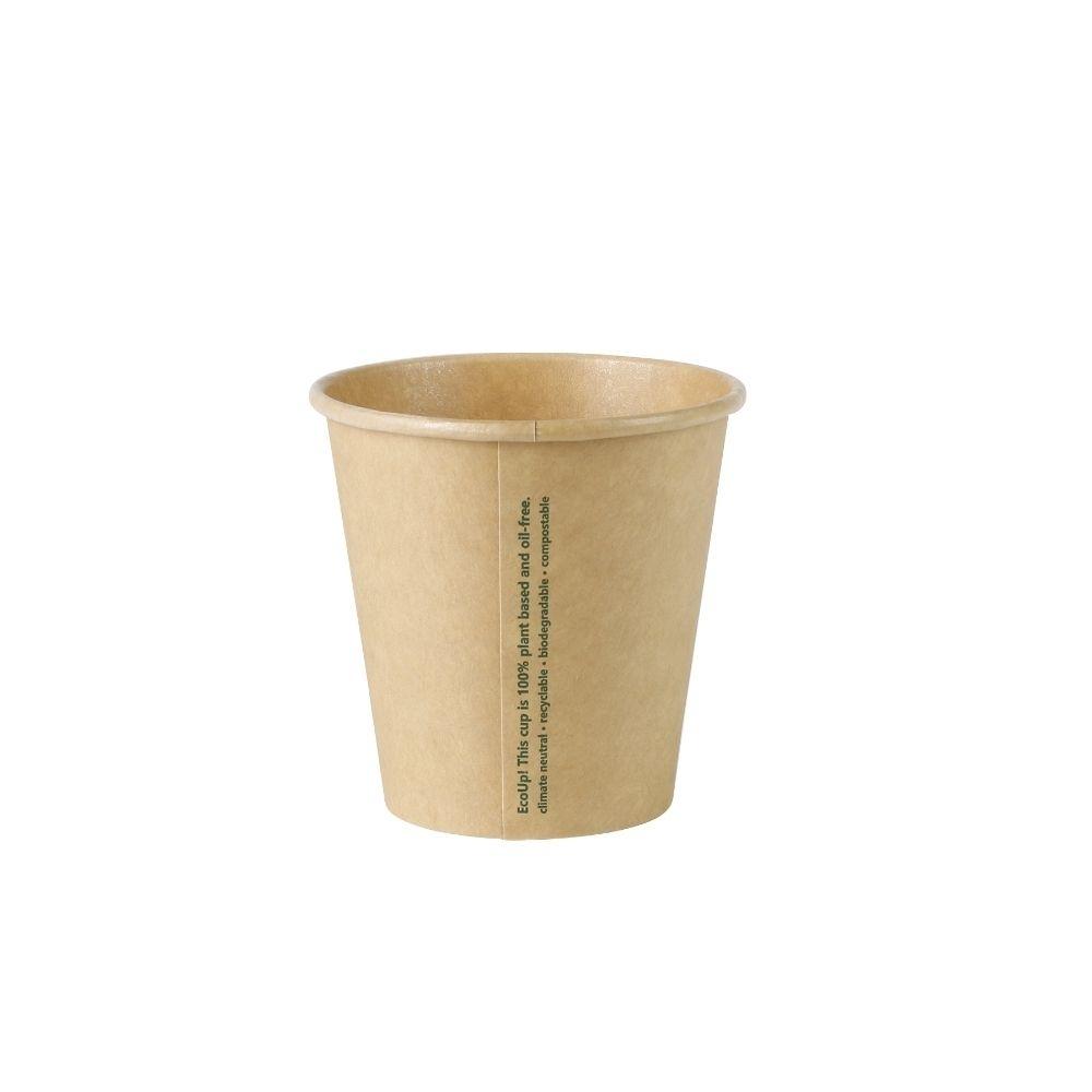 Pappbecher 150 ml / 6 oz, Ø 80 mm, ungebleicht
