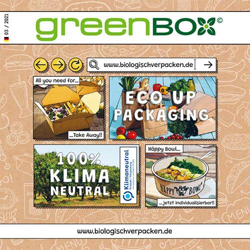 greenbox Katalog Cover 2021