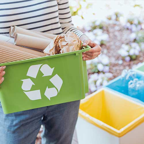 Restmüll oder Recycling