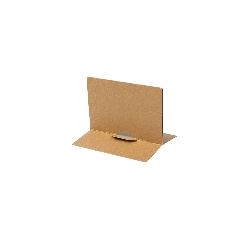 Trennwand für Take-away-Karton-Boxen 600 ml, braun