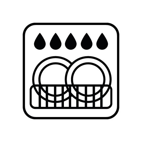 Spülmaschinengeeignet Icon