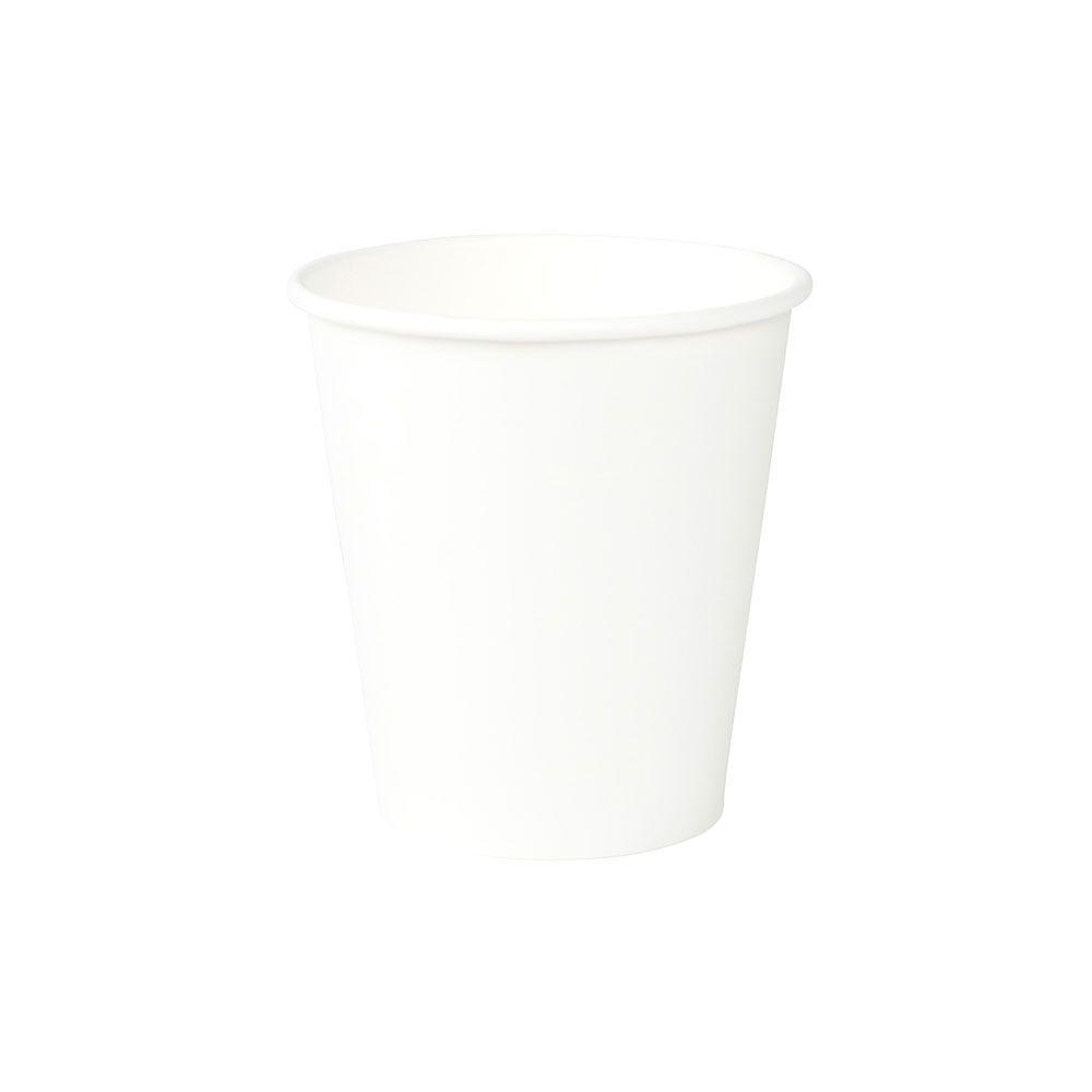 Pappbecher 250 ml / 10 oz, Ø 90 mm, weiß