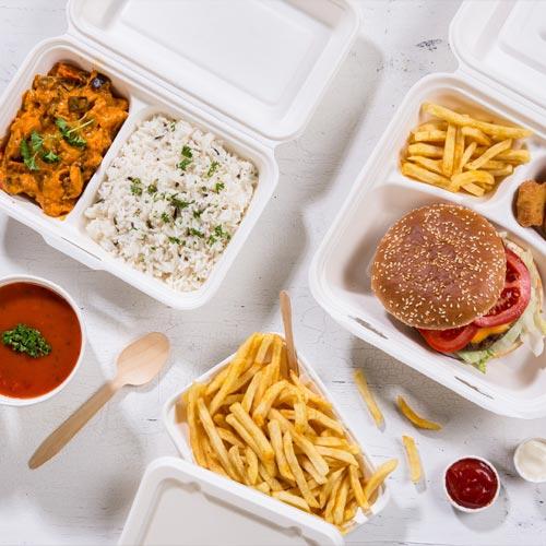 Fast-Food-Verpackungen aus Zuckerrohr